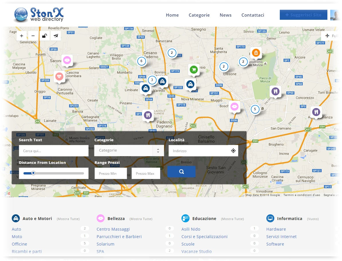 StonX Web Directory