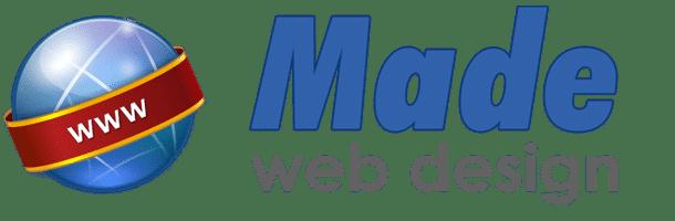 Made – Web Design   Realizza il tuo sito web con Made Retina Logo