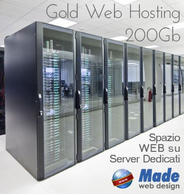 Gold Web Hosting 200Gb