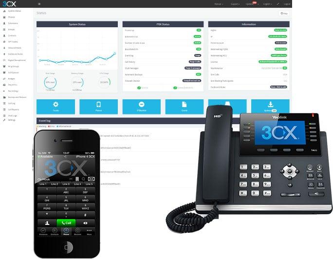 3CX VoIP e Centralini Virtuali