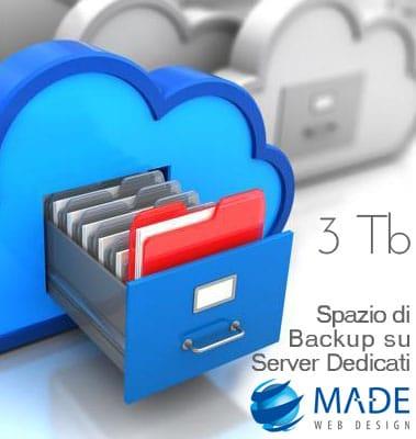 Cloud Backup fino a 3 Terabyte