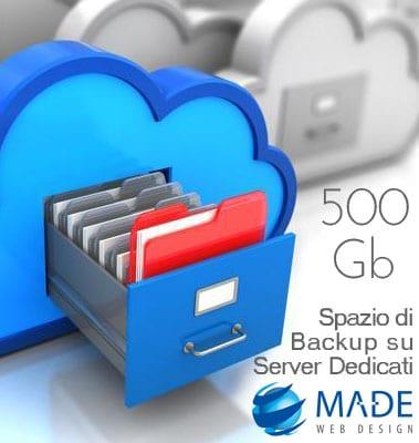 Cloud Backup fino a 500 Gigabyte