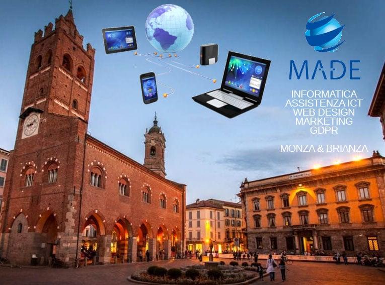 Sviluppo Siti Internet e Assistenza Informatica a Monza e Brianza