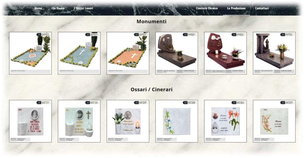 Banfi Cesare - Un sito web per Attività di Onoranze Funebri