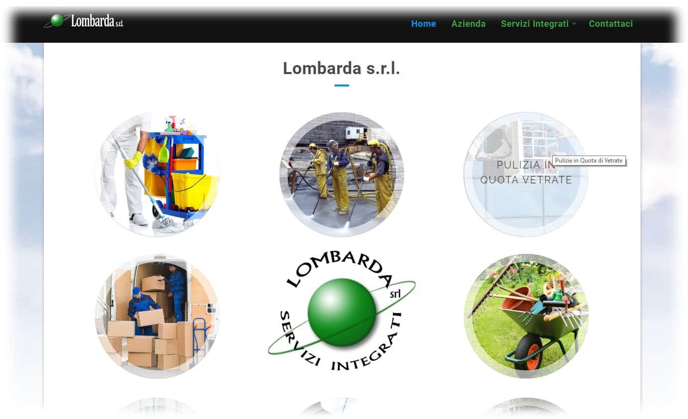 Lombarda Servizi - Sito Web per Azienda di Servizi