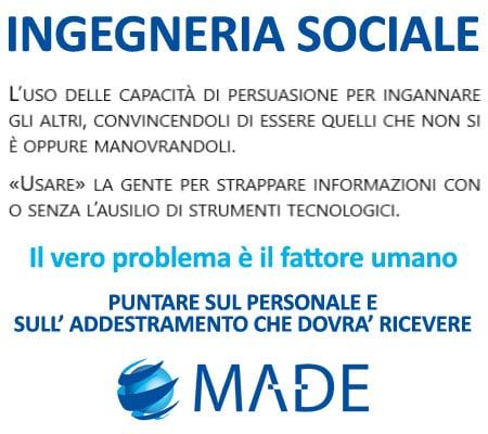 INGEGNERIA SOCIALE