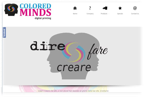 Colored Minds