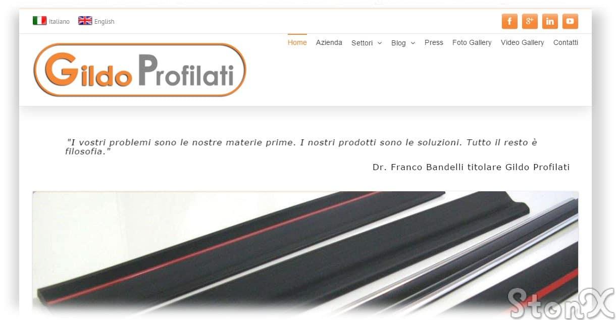Gildo Profilati www.gildoprofilati.com