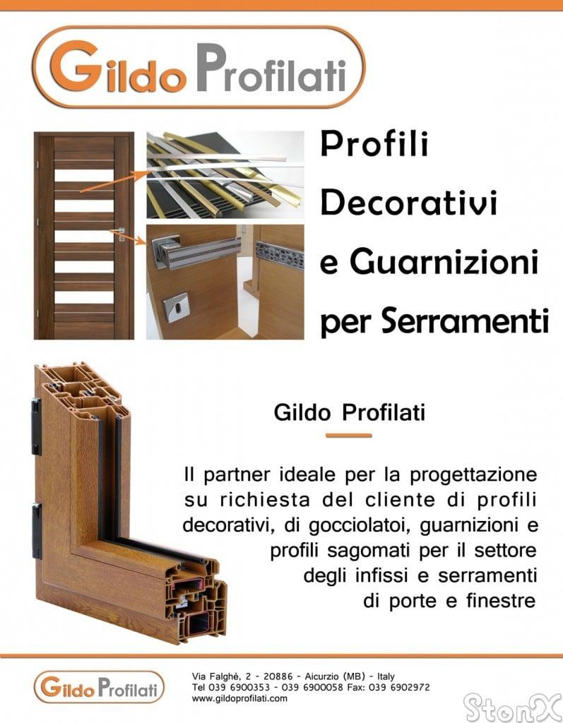 Flayer Gildo Profilati su legno & legno